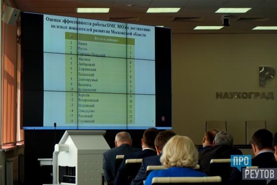 Реутов занял второе место в рейтинге городов Подмосковья. В правительстве Московской области подвели предварительные итоги рейтинга городов и районов. ПроРеутов