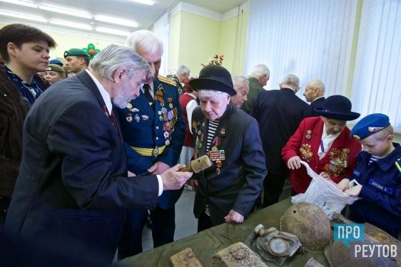 В Реутове открылся музей воинской славы. Основу экспозиции «По следам войны» составили находки поисковиков на полях сражений. ПроРеутов