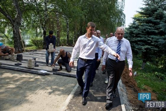 День города в Реутове впервые отметят в парке «Фабричный пруд». Первый этап работ по благоустройству территории завершится к 10 сентября. ПроРеутов