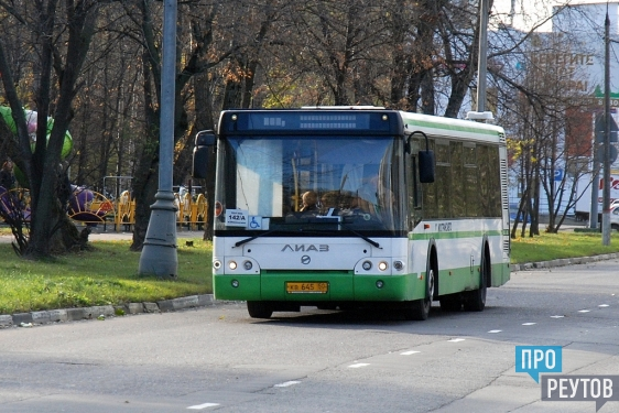 Реутовский автобус №142 изменил маршрут движения. Теперь помимо Юбилейного проспекта и улицы Южная он идёт по Молодёжной и Октября. ПроРеутов