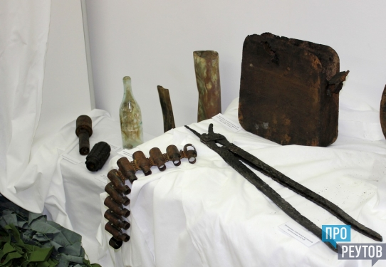 Уникальная выставка «Ушедшие в бессмертие» работает в музее Реутова. Экспонаты рассказывают о судьбах воинов-реутовчан. ПроРеутов