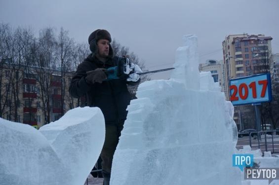 Скульптуры из голубого льда впервые украсят центр Реутова. Выставка «Ледяная сказка» на главной площади города будет работать до весны. ПроРеутов