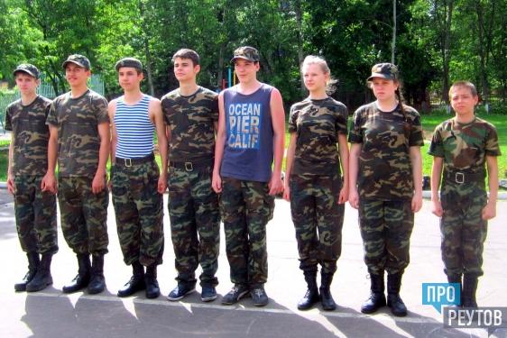 Продолжается набор в первый кадетский класс Реутова. ПроРеутов