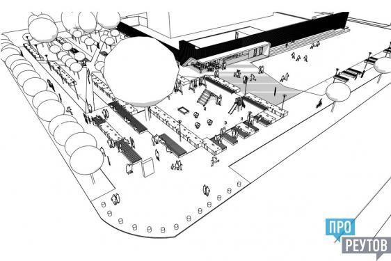 Урбанисты предложили создать в Реутове «Зелёный угол». Тихая зона, территория встреч и площадка-трансформер появятся на улице Победы появятся ко Дню города. ПроРеутов