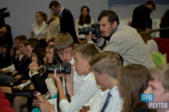 Будущие выпускники встретились с главой Реутова Сергеем Юровым и руководителем «НПО машиностроения» Александром Леоновым. ПроРеутов
