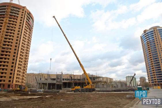 Детсад и школу построят в Реутове к сентябрю 2016 года. Глава города Сергей Юров проверил темпы строительства комплексного микрорайона №6. ПроРеутов